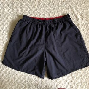 Speedo Size XL Navy Swim Shorts Trunks Men's